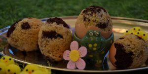 Recette des œufs au gâteau marbré sans gluten