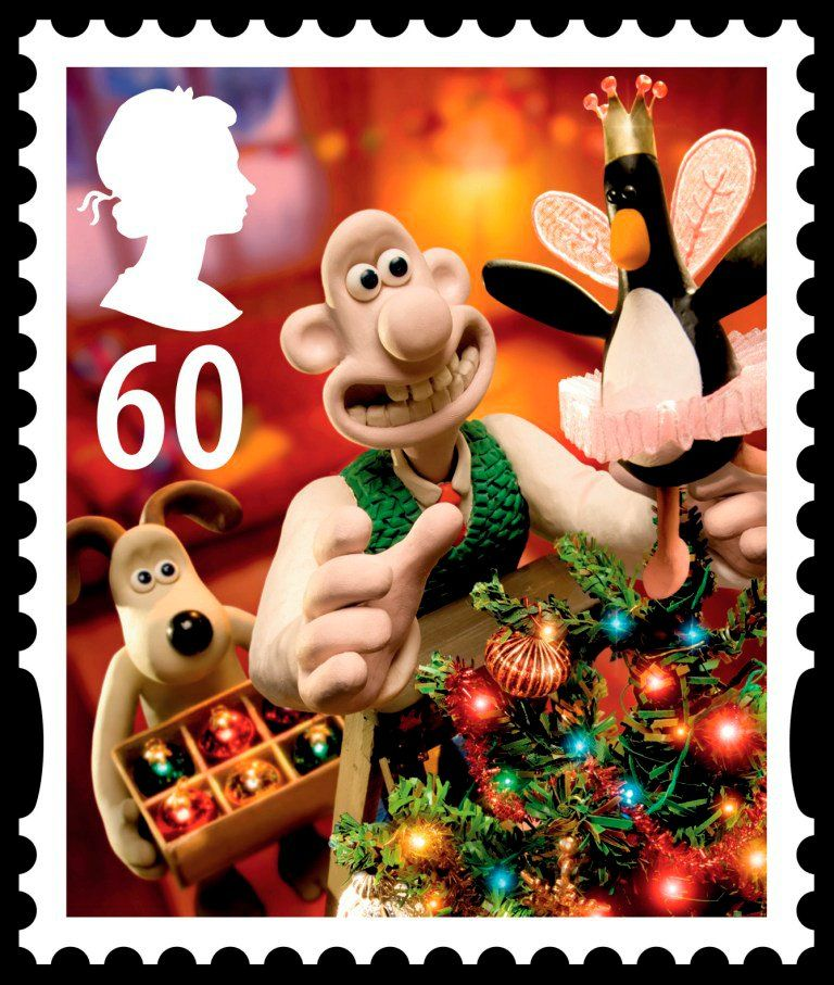 well that s christmas licked gromit wallace and his long suffering dog to
