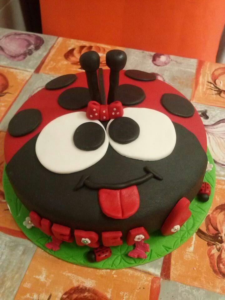 Mariquita Bizcochos Infantiles Birhday Cake Birthday