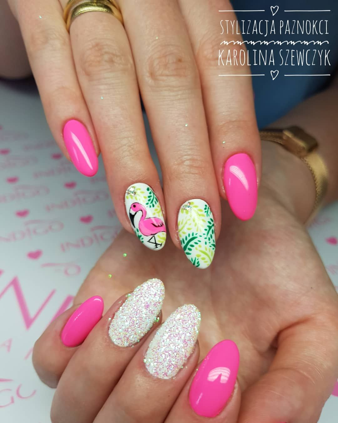 Flamingnapaznokciach Flamingnails Wakacje
