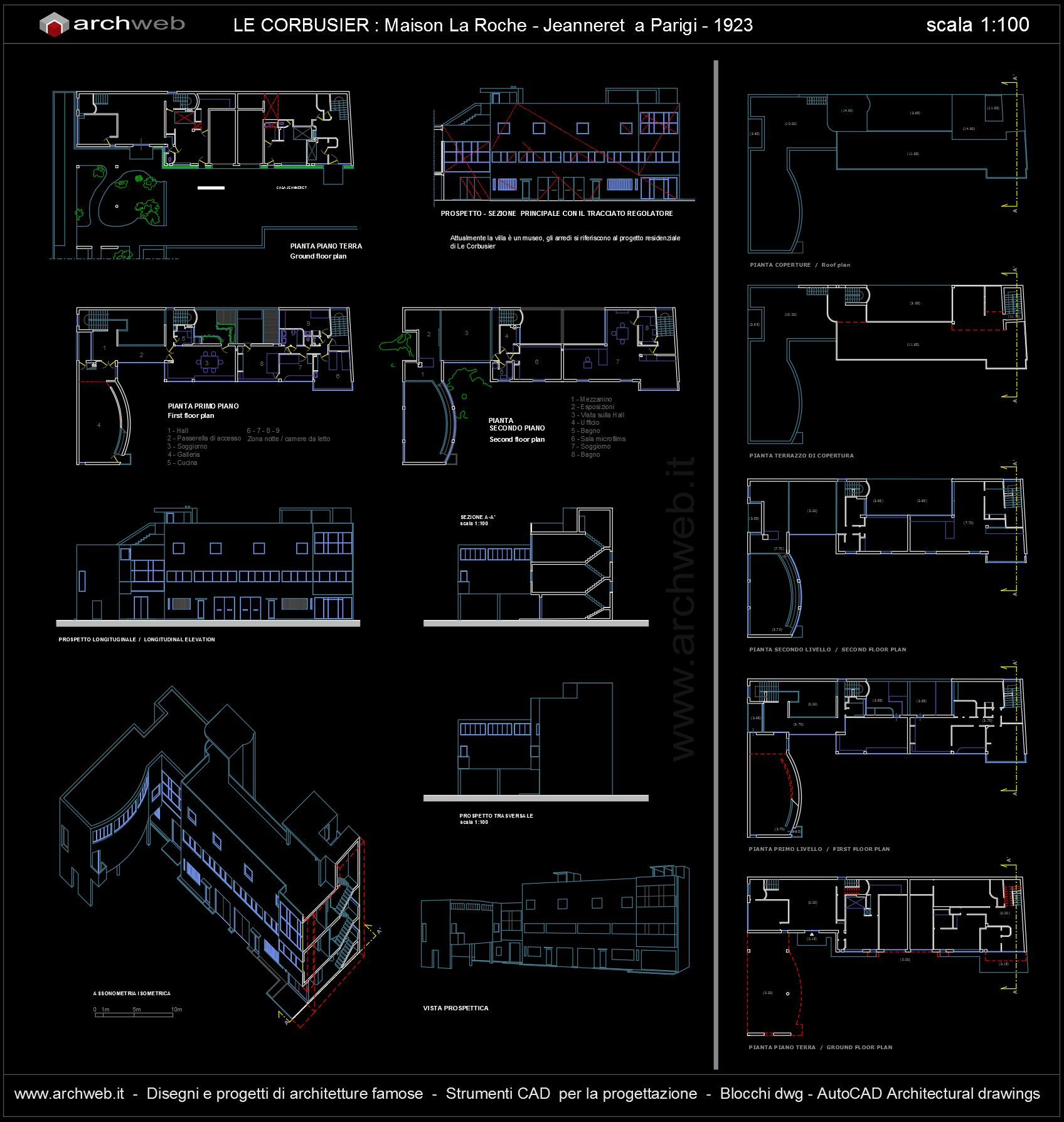 Maison La Roche-Jeanneret, Paris (1923) | Le Corbusier | Archweb ...