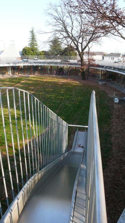 Kinder Garden: Kindergarden In Fuji Designed By Tezuka Architects