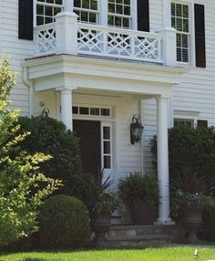 Image result for roof deck with chippendale railing ...