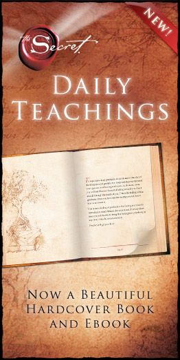 The secret daily teachings books we read that inspire us the secret daily teachings fandeluxe Images