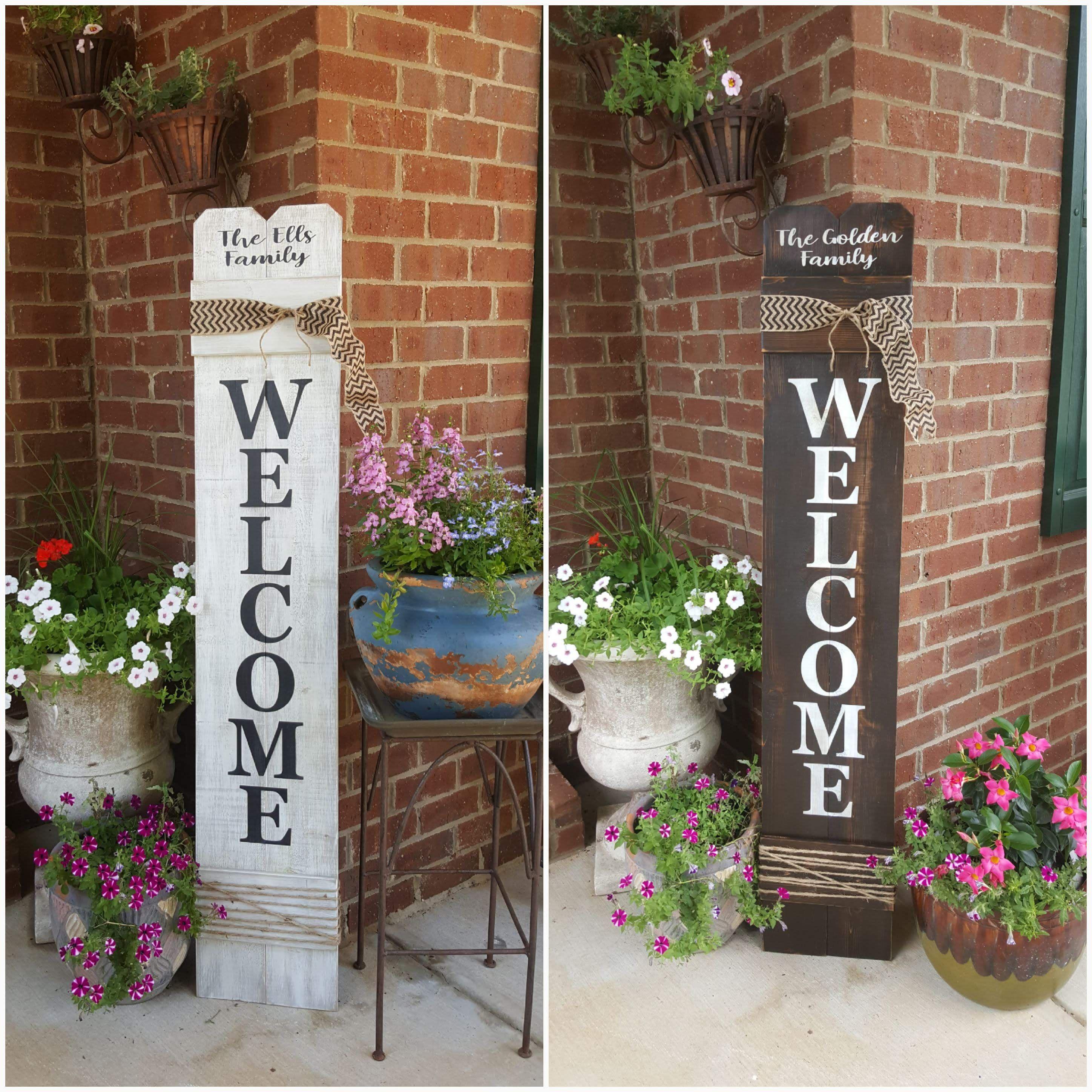 This Item Is Unavailable Front Porch Decorating Porch Decorating Welcome Signs Front Door