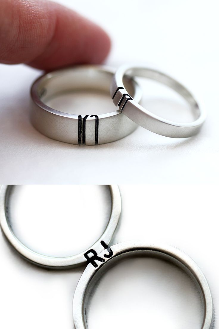 Commitment rings for him and her