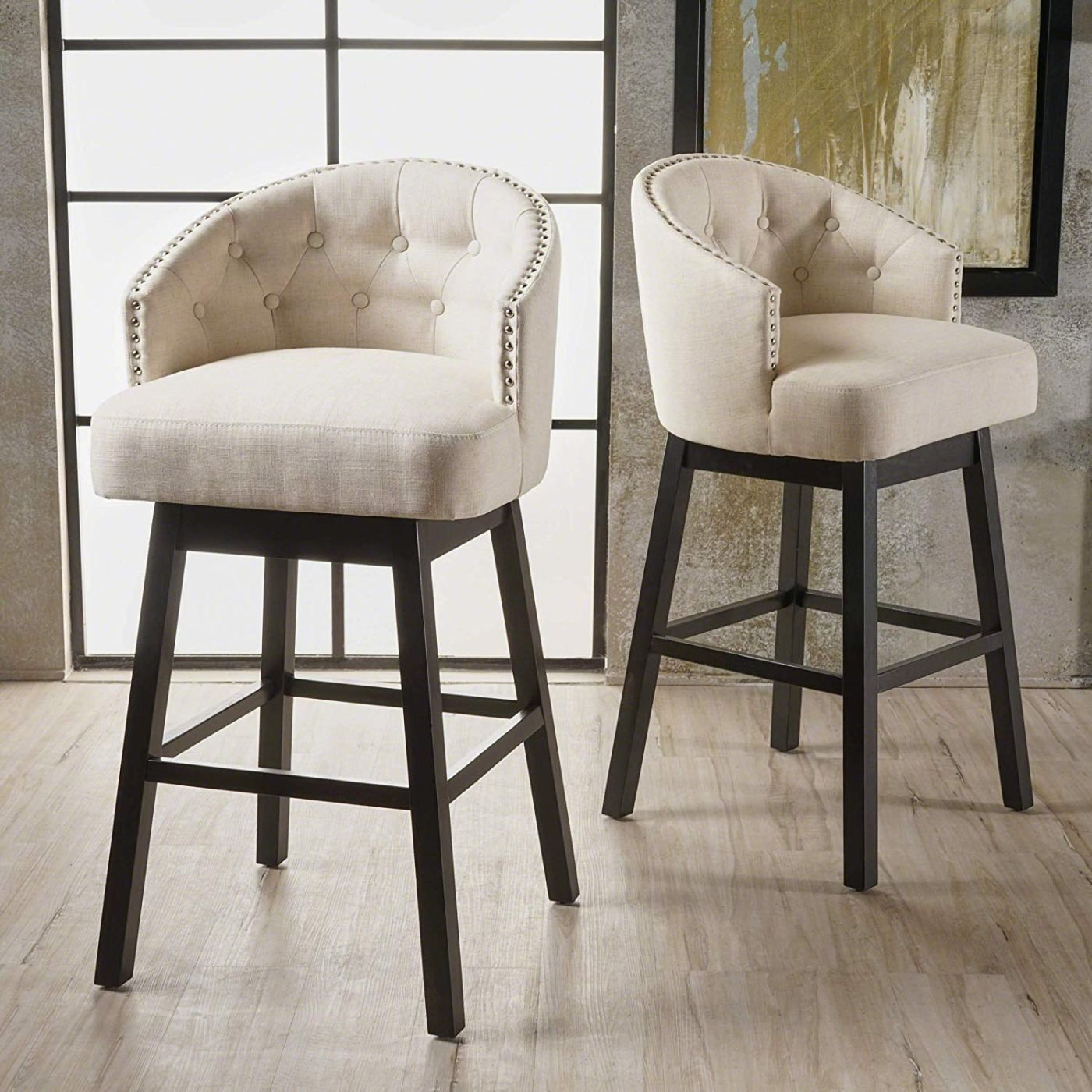 10 Best Selling Swivel Bar Stools With Back On Amazon In 2020 In 2020 Bar Stools With Backs Swivel Bar Stools Bar Stools
