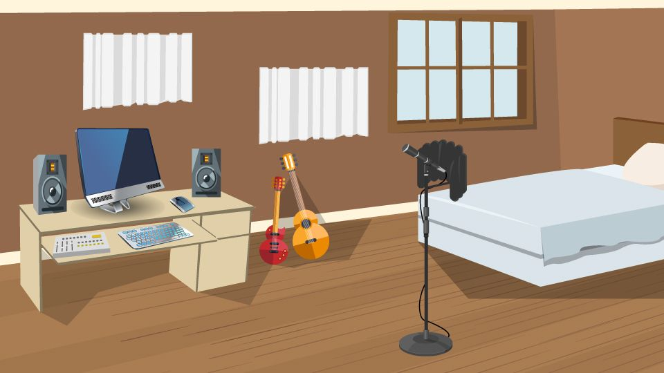 6 Steps for Converting a Bedroom into a Home Recording ...