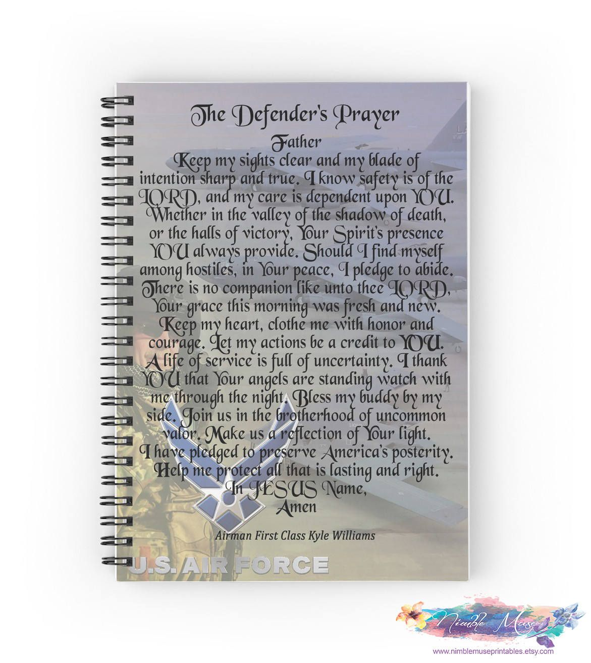 Air Force Gifts, Personalized Air Force Gift, USAF