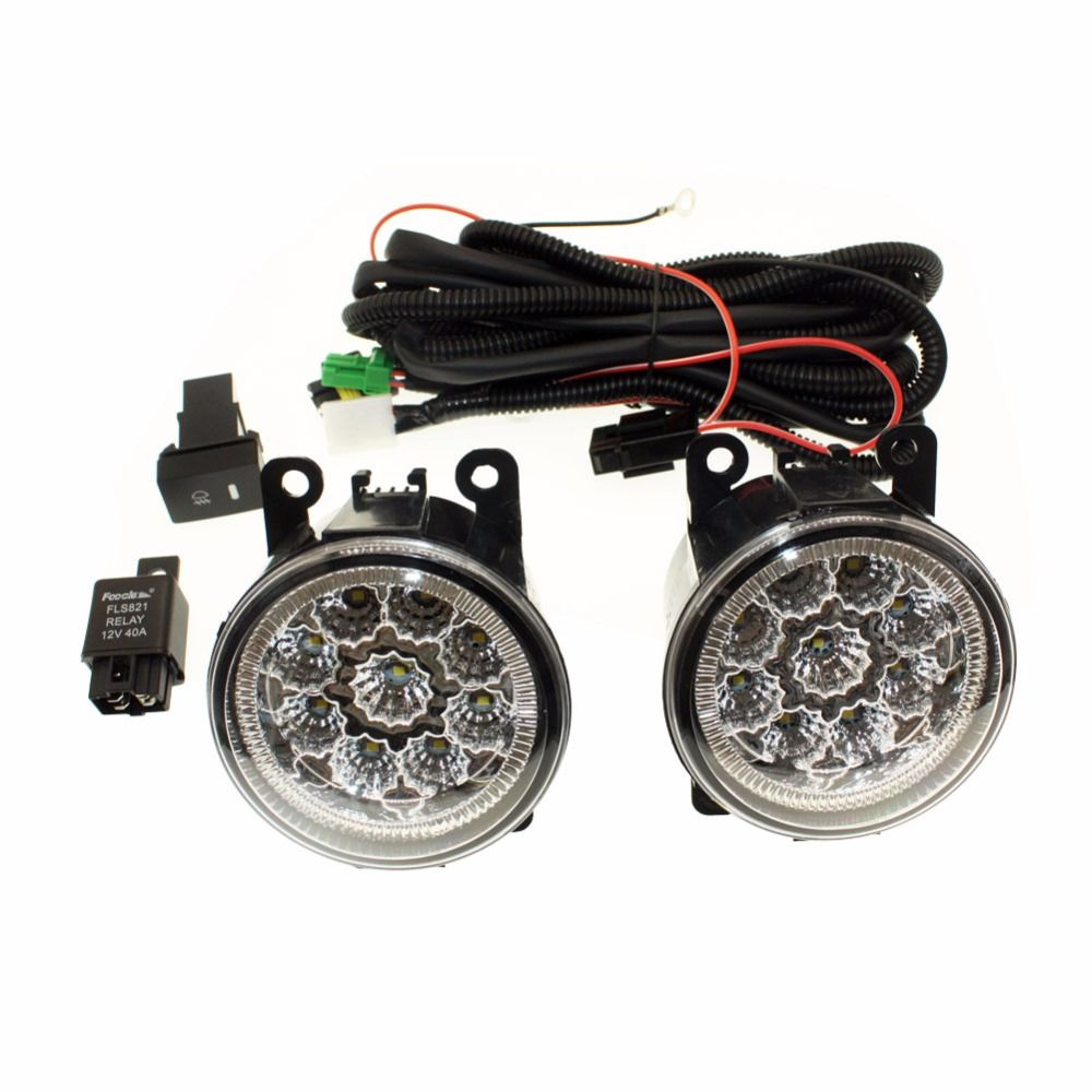 For Renault Duster 2012 2015 H11 Wiring Harness Sockets Wire 194 Led Connector Switch Us 4139