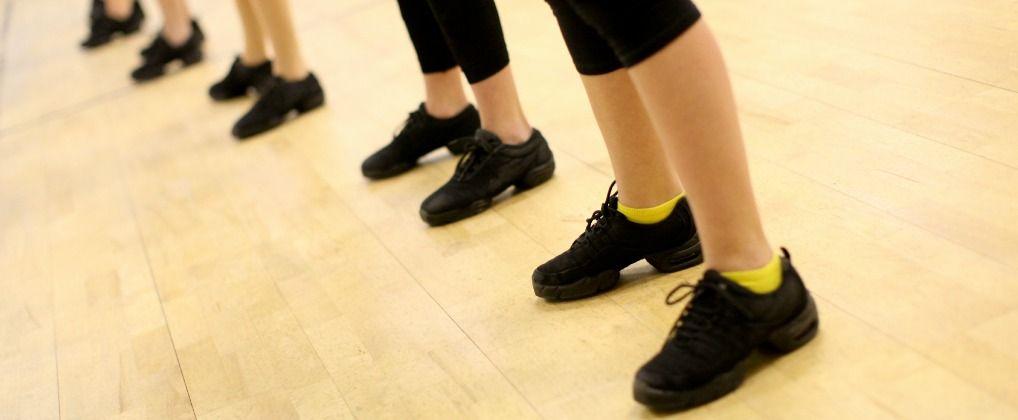 The Studio Studio Dance Studio All Black Sneakers