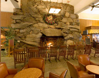 Grove Park Inn Asheville Nc This Is One Of The Large Fireplaces