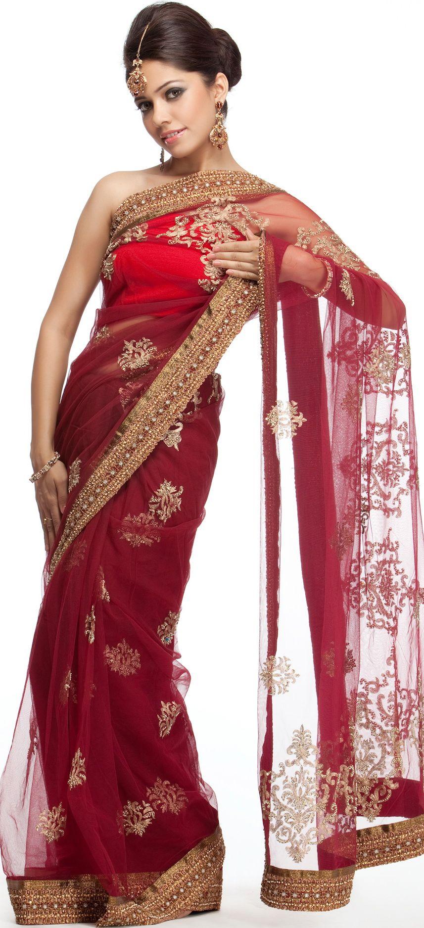 Fashion with Saris in 2012 | Top 10 Sari Designs