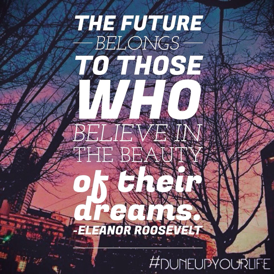 #motivationmonday #dreams ✨ For more inspiration & motivation follow DUNE UP YOUR LIFE