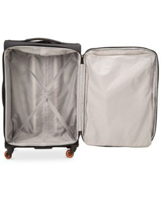 Delsey Hyperlite 2 0 20 Quot Carry On Expandable Spinner Suitcase Only At Macy S Black Delsey