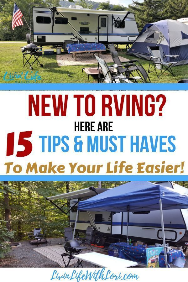 15 Tips And Must Haves for New RVers | Livin' Life With Lori #rvcamping