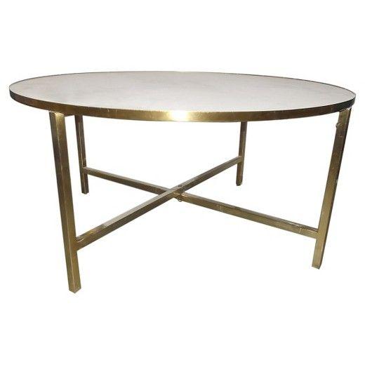 Marlton Round Coffee Table Threshold Living Room