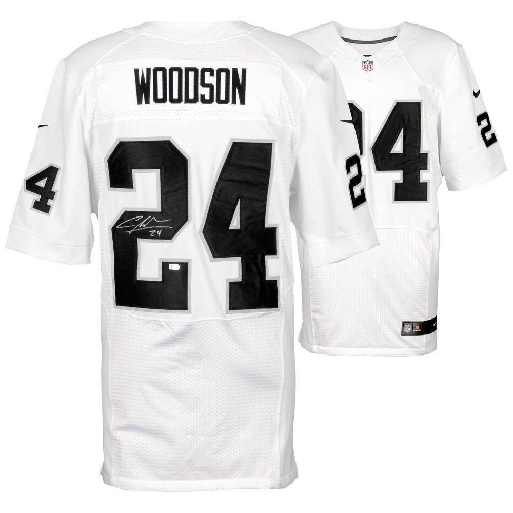 Autographed Oakland Raiders Charles Woodson Fanatics Authentic ...