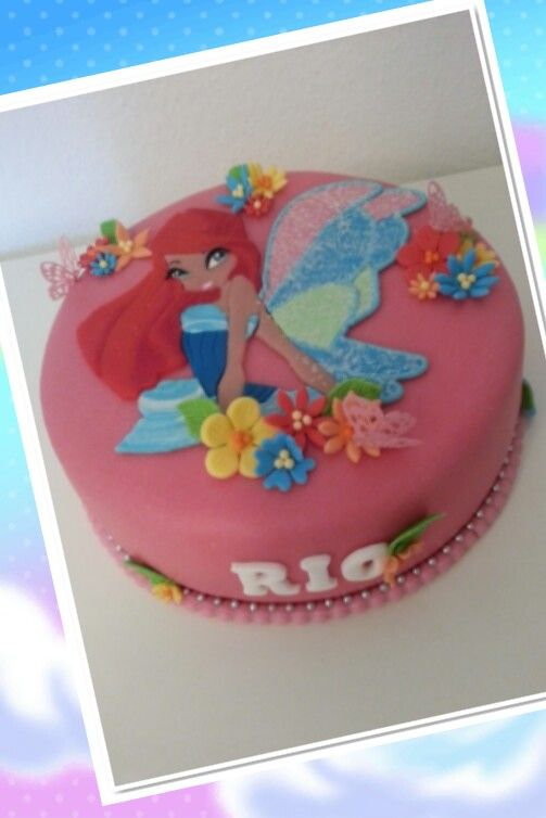 Cake Design Winx : Winx club cake CillyCakes (my own creations) Pinterest ...