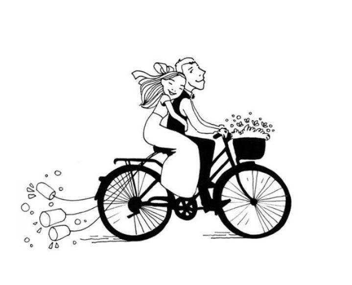 Noivo E Noiva Gato Casorio Para Seu Desenho Clipart