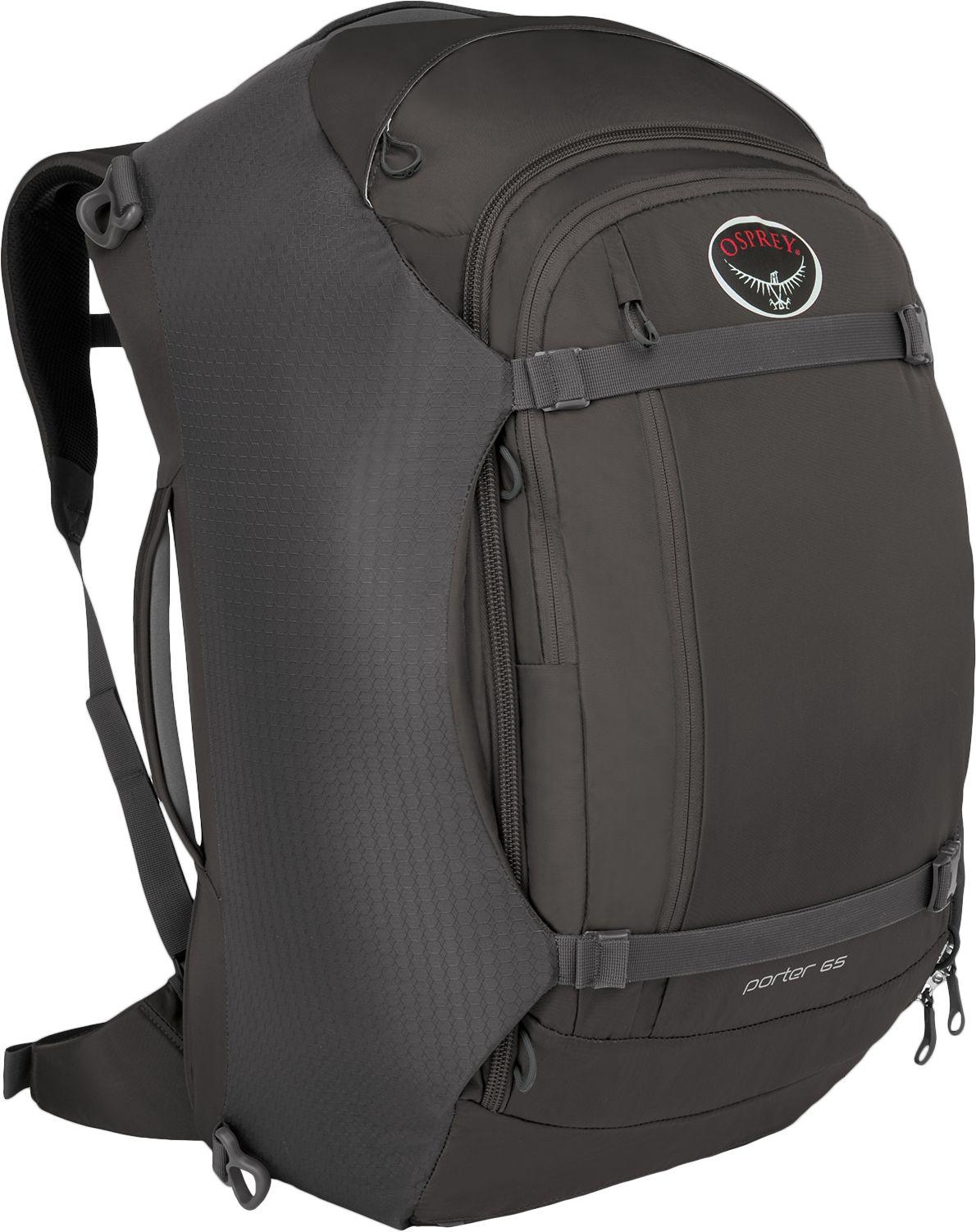 Other Camping Hiking Backpacks 36109  Osprey Porter 65 Travel Pack Backpack  - Black -  4f681b0d38