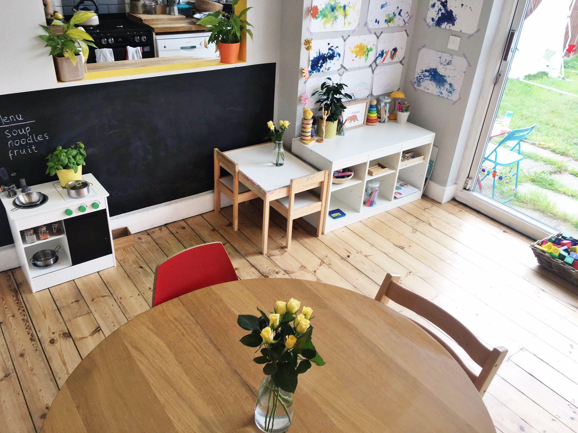 A Peek Inside Eloise Sam And Frida S Montessori Style Home In London The Montessori Notebook Montessori Bedroom Montessori Playroom Toddler Bedrooms