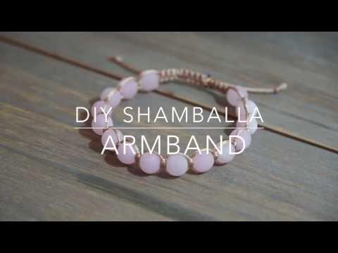 Shamballa Armband DIY Anleitung & Technik - YouTube | Draht mit ...