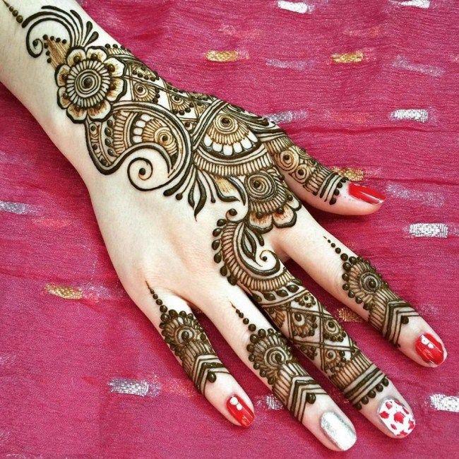 Arabic eid mehndi designs very simple pattern to design also rh ar pinterest