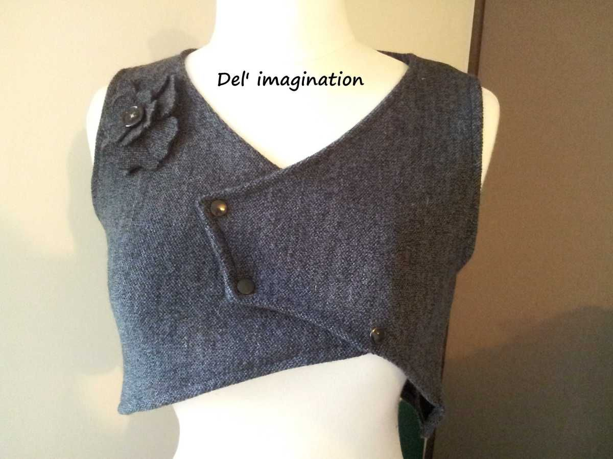 mes creations | Veste en laine, Gilet laine, Laine bouillie