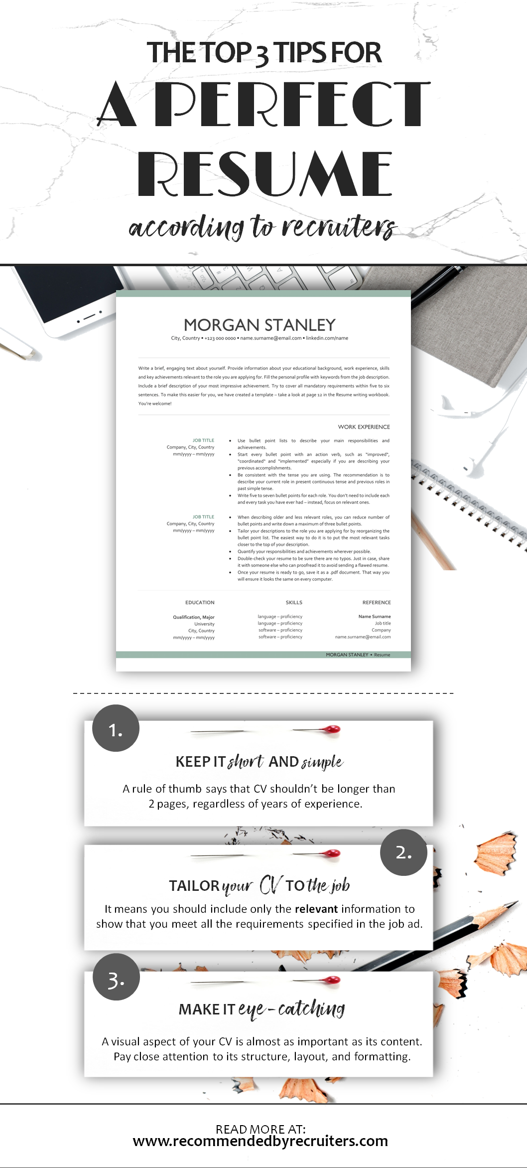 Resume Writing Tips Top 3 Tips For A Perfect Resume Resume Writing Tips Resume Tips Resume
