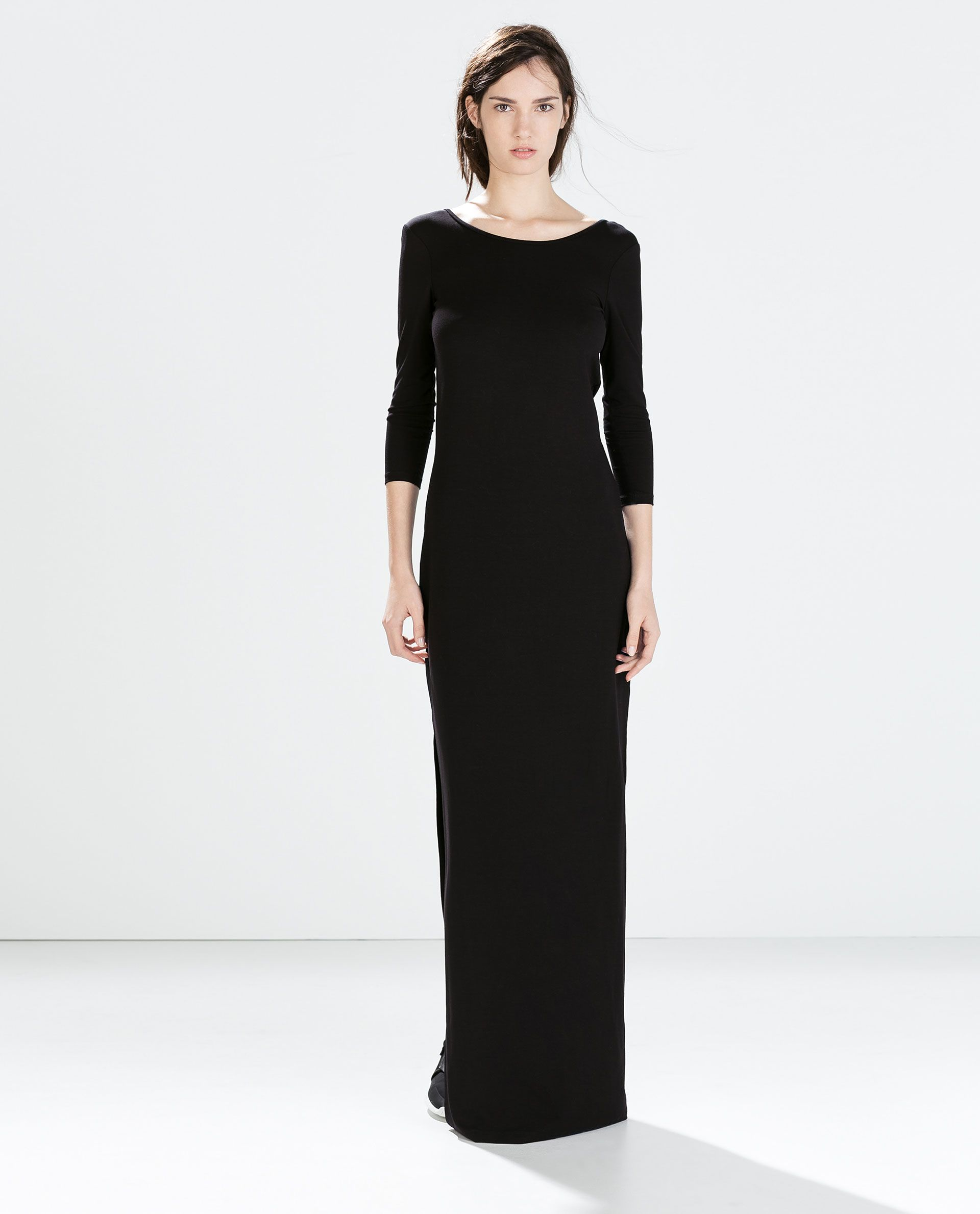 long dress - dresses - knitwear - woman | zara united states