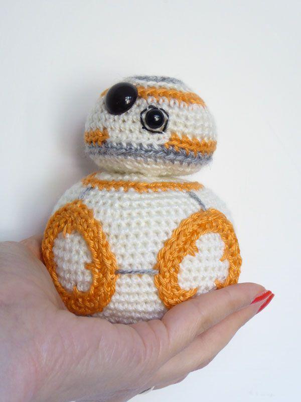 Star Wars BB-8 Crochet Pattern (MysteriousCats.com Blog) | Patrones ...