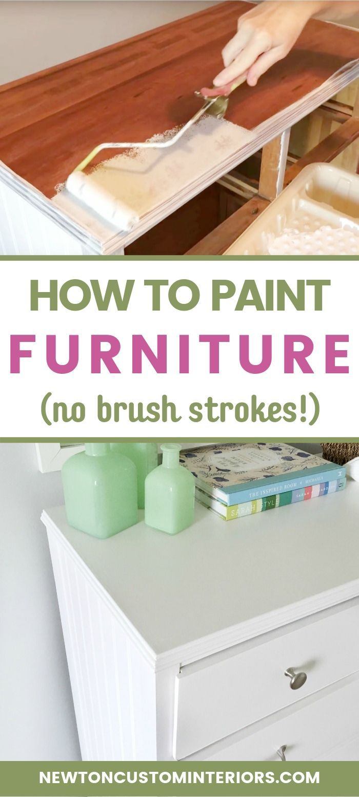 How To Paint Wood Furniture  With No Brush Strokes! is part of Diy furniture tutorials, Painting laminate furniture, Furniture, Painting wood furniture, Diy furniture, Paint furniture - Learn how to paint wood furniture with this very detailed, stepbystep video tutorial! Instead of buying new wood furniture, update the furniture you already have quickly and easily! The key to getting fabulous results with no brush strokes, is using the right painting tools and paint!