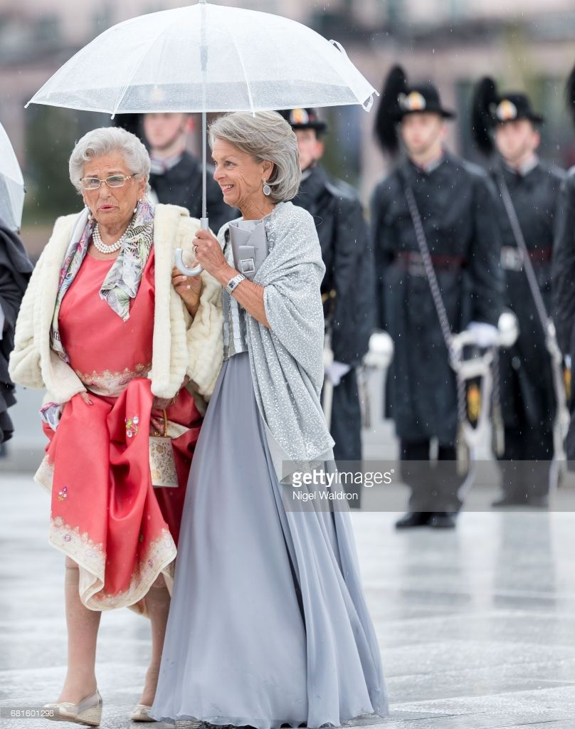 Princess Astrid of Norway arrives at the Opera House on the occasion of the celebration of King Harald and Queen Sonja of Norway 80th birthdays on May 10, 2017 in Oslo, Norway.