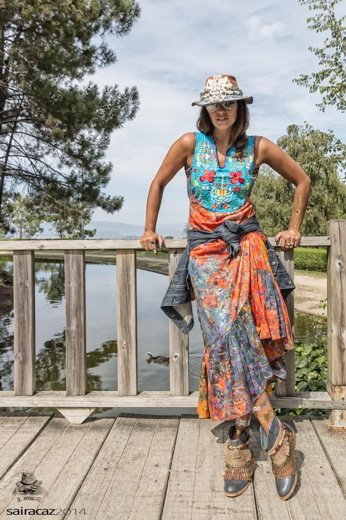 KEYKO model.....with our gipsy dress....Love the look!