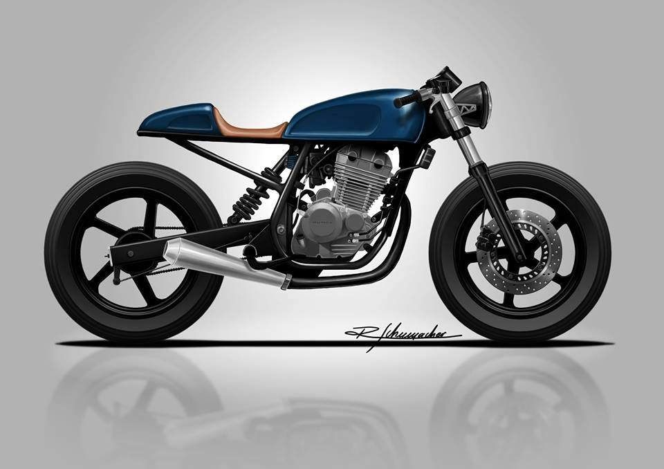 Cbx 250 Twister Cafe Racer Custom And Classic