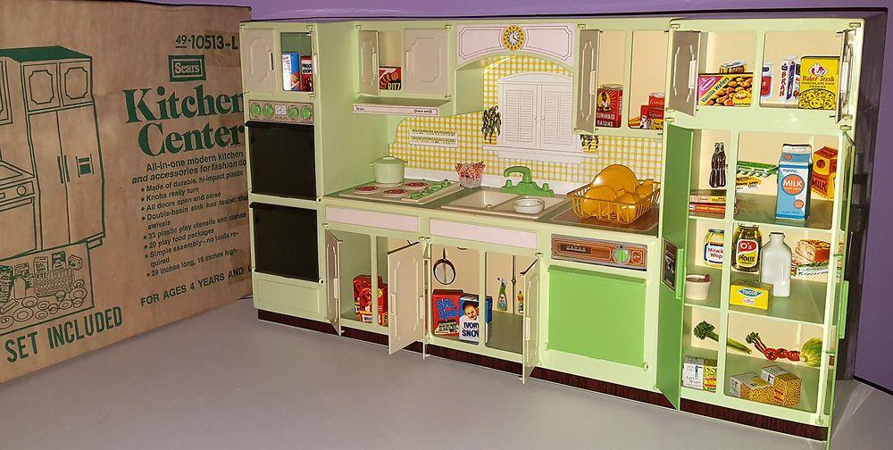 Wolverine Sunny Suzy Sears Kitchen Center 1970s Vintage Barbie Doll Playset Barbie Kitchen Vintage Barbie Playset