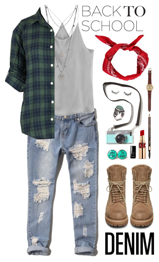 """Back to school 2.0."" by lisageurts ❤ liked on Polyvore"