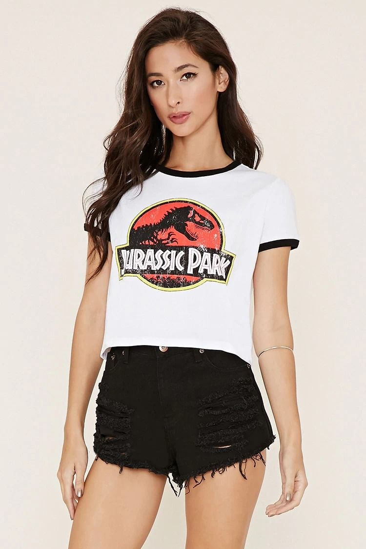 e7f5068190d2 Jurassic Park Graphic Tee  thelatest