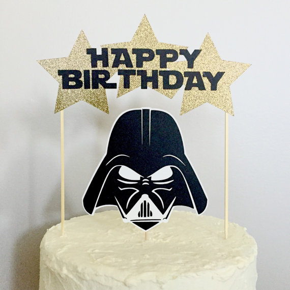 Tremendous Star Wars Character Happy Birthday Cake Topper By Crushoccasions Funny Birthday Cards Online Bapapcheapnameinfo