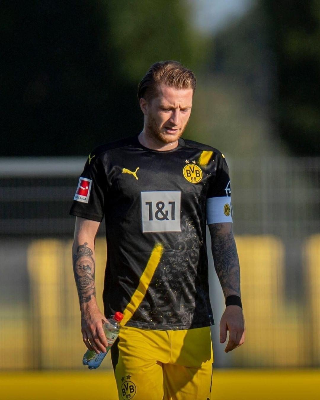 Borussia Dortmund S 2020 21 Away Jersey