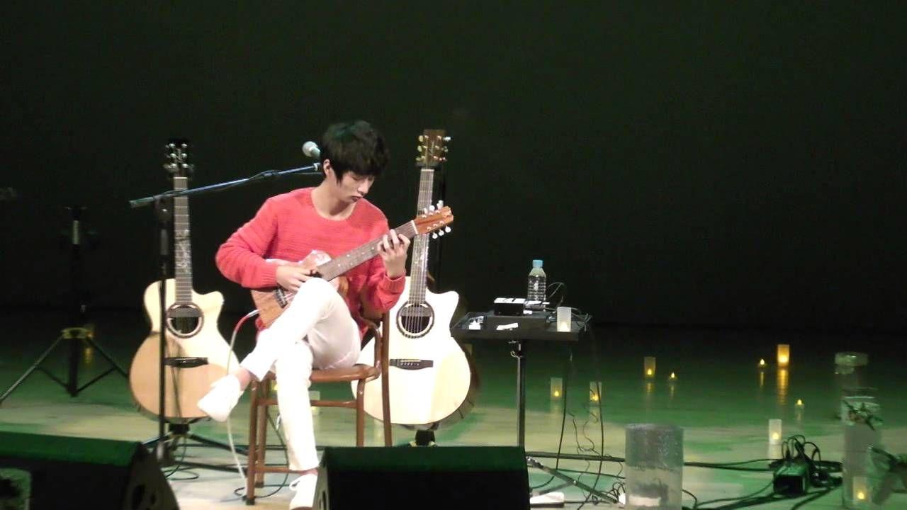 (Pachelbel) Canon -- Sungha Jung (guitarlele live)