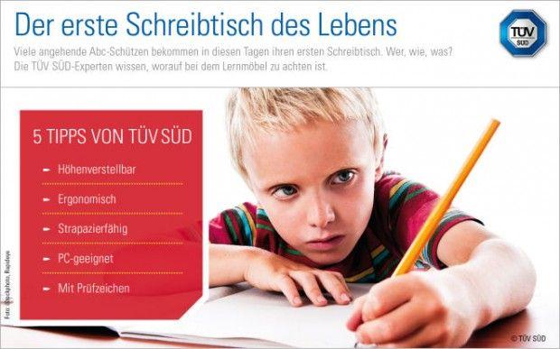 Schreibtische für Kinder: mitwachsend und strapazierfähig  Nach den Sommerferien beginnt für viele Kinder mit der Einschulung eine neue Lebensphase. Zur richtigen Ausstattung der Erstklässler gehört ein wichtiges Möbelstück: der erste Schreibtisch ihres Lebens. Worauf bei der Auswahl und beim Einsatz zu achten ist, dazu gibt es Tipps   http://www.cleankids.de/2014/07/10/schreibtische-fuer-kinder-mitwachsend-und-strapazierfaehig/48480