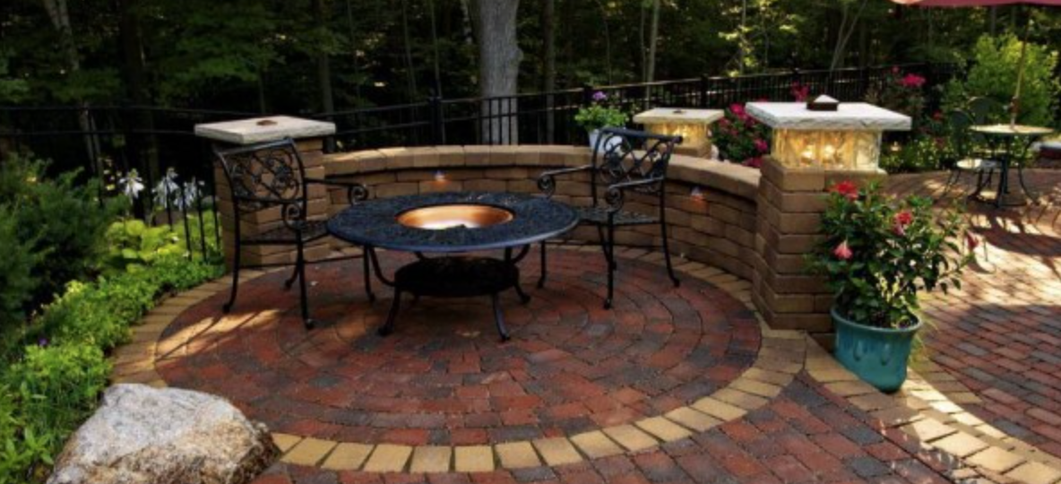 Fire Pits are Hot.. and, Legal! Reder Landscaping