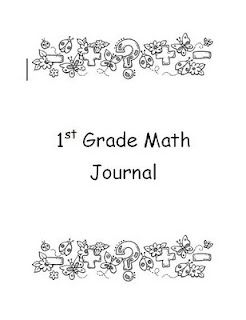 Here's a post with math journal files for 1st, 2nd, 3rd