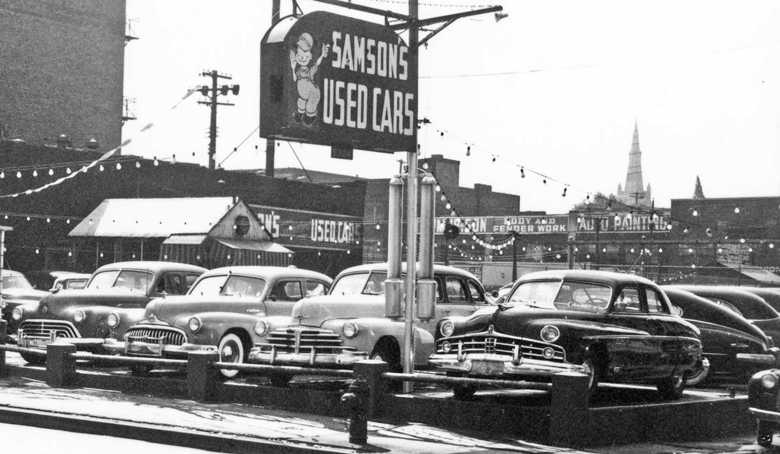 1951 Samson's Buick Dealership, Pittsburgh, Pennsylvania