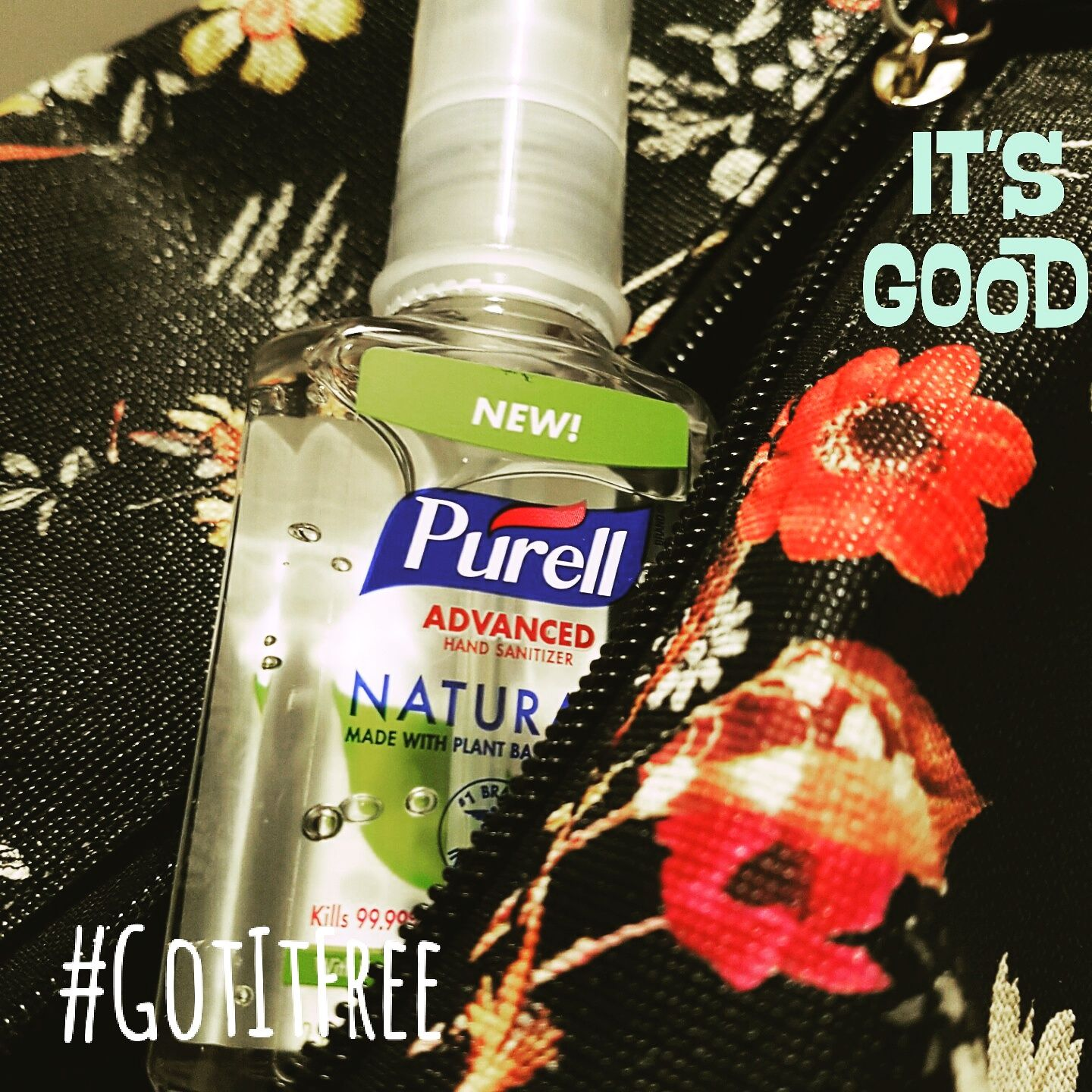 Purell Hand Sanitizer Got It For Free Thanks To Influencer For