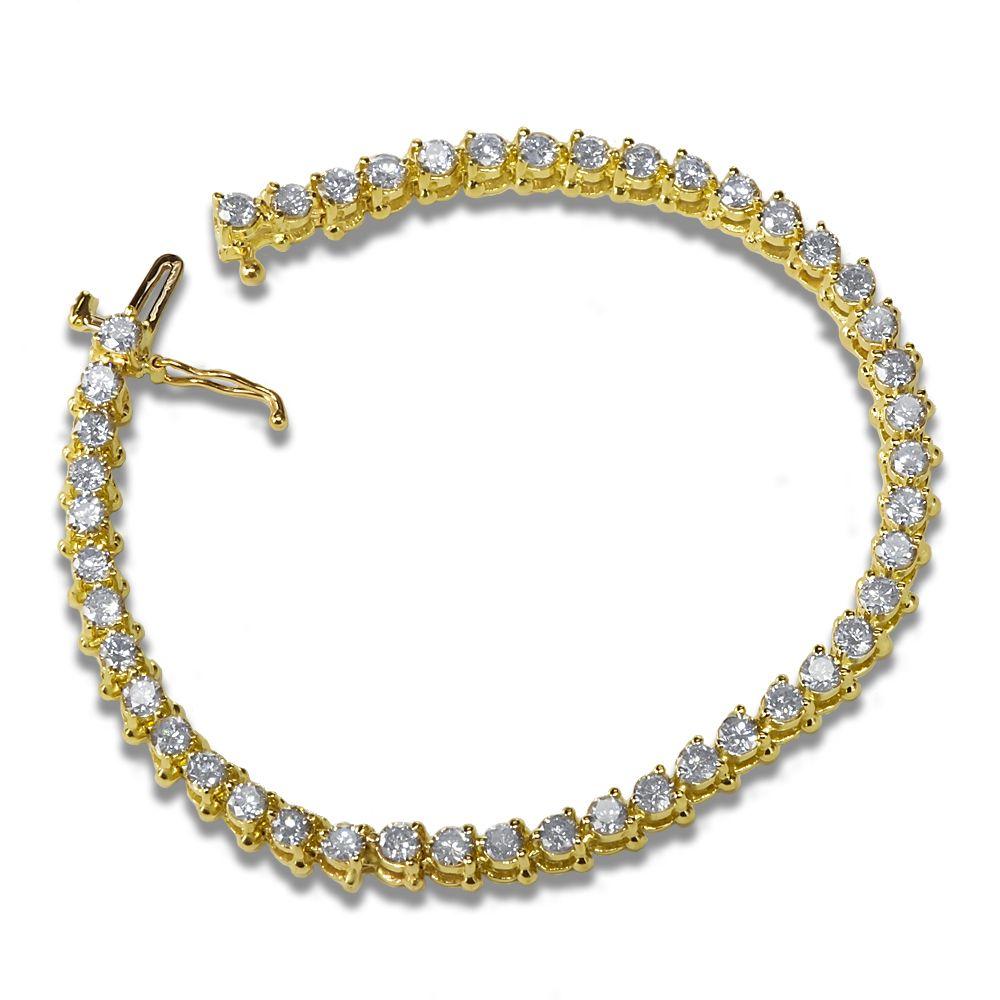Ebay nissonijewelry presents ladiesu ct diamond tennis bracelet