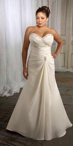Stunning Plus Size Wedding Dresses