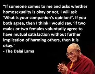 Buddha quotes on homosexuality
